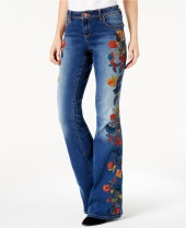 Джинсы Embroidered Bootcut Jeans